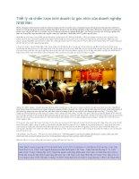 triết lý và chiến lược kinh doanh từ góc nhìn của doanh nghiệp nhật bản