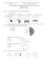 đề thi toán giữa kì 2 lớp 5