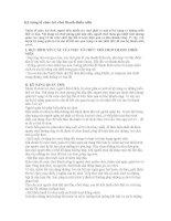 KỸ NĂNG TỔ CHỨC TRÒ CHƠI THANH THIẾU NIÊN
