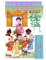 Thiệp chúc mừng cô Lan nhân ngày 20/11 (Minh)