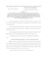 Thông tư 04/2010/TT-BGDĐT ngày 11/02/2010 của BGD&ĐT v/v sửa đổi, bổ sung một số điều của Quy chế thi chọn học sinh giỏi