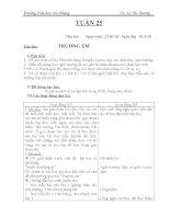 GIÁO AN LOP 1- TUAN 25(CKTKN)