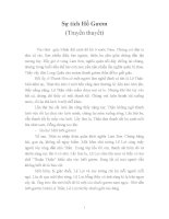 Văn bản SGK Sự tích Hồ Gươm