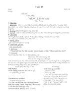 Tiết 125- Cách làm bài nghị luận về một đoạn thơ bài thơ
