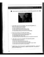 how to master skills for the toefl ibt listening advanced part 17 ppt