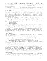 Đề Thi HSG HOÁ 12 - Tỉnh Phú Thọ [2009 - 2010] pps