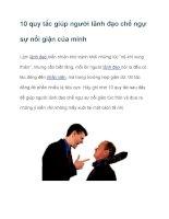 10 quy tắc giúp người lãnh đạo chế ngự sự nổi giận của mình docx