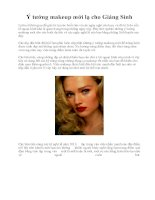Ý tưởng makeup mới lạ cho Giáng Sinh pdf