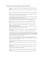 Những câu châm ngôn hay bằng tiếng Anh pot
