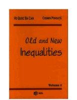 old and new inequalities bất đẳng thức cực hay