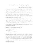 Bài tập về dãy số