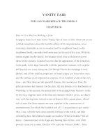 LUYỆN ĐỌC TIẾNG ANH QUA TÁC PHẨM VĂN HỌC-VANITY FAIR -WILLIAM MAKERPEACE THACKERAY -CHAPTER 36 pdf