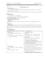 GIÁO ÁN NV 8-Học Kỳ I - tuần 1