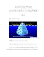 ĐAU THẮT NGỰC ỔN ĐỊNH (BỆNH TIM THIẾU MÁU CỤC BỘ MẠN TÍNH) (Kỳ 2) pdf
