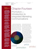 Basic Marketing: A Global−Managerial Approach Chapter 14 potx