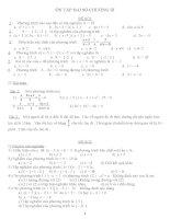 HƯỚNG DẪN ÔN TẬP CHƯƠNG III-ĐẠI SỐ 8