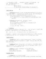 Đề Thi Học Sinh Giỏi HOÁ 12 - THPT Ngan Dừa - Bạc Liêu [2009 - 2010] pps