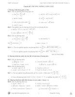 Hệ thống bài tập chuyên đề phương trình lượng giác pot