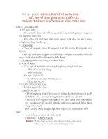 Bài 37: Thực hành vẽ và phân tích biểu đồ về tình hình sản xuất của ngành thủy sản ở Đồng Bằng sông Cửu Long