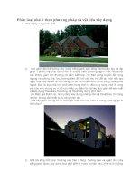 Phân loại nhà ở theo phương pháp và vật liệu xây dựng potx