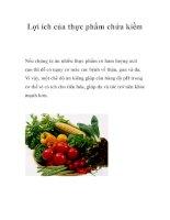 Lợi ích của thực phẩm chứa kiềm pdf
