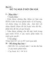 Địa lý lớp 7 bài 16 pptx