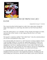 The Legend of Princess of Lieu Hanh
