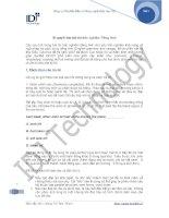 Bí Quyết làm bài thi môn Tiếng Anh
