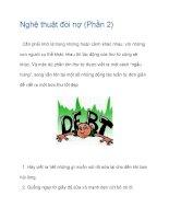 Nghệ thuật đòi nợ (Phần 2) pdf