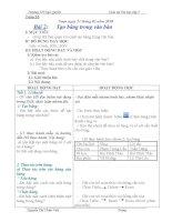 GIÁO ÁN MÔN TIN LỚP 5 TUẦN 23-25