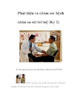 Phát hiện và chăm sóc bệnh nhân sa sút trí tuệ (Kỳ 2) ppsx