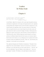 Ivanhoe -Sir Walter Scott -Chapter 6 potx