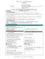 Giáo án lớp 1- TUẦN 25 - CKTKN