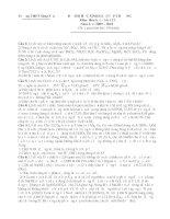Đề Thi Học Sinh Giỏi HOÁ 12 - THPT Sáng Sơn [2009 - 2010] docx