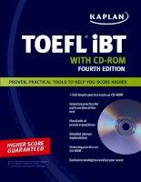 Kaplan toefl ibt fourth edition part 1 potx