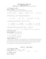 Đề - Đáp án KT chương 3 Đại số 8 (3)