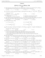 Trắc nghiệm chương 2 Vật lý 12