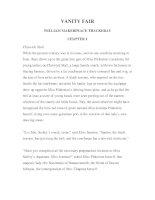 LUYỆN ĐỌC TIẾNG ANH QUA TÁC PHẨM VĂN HỌC-VANITY FAIR -WILLIAM MAKERPEACE THACKERAY -CHAPTER 1 doc