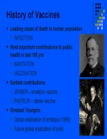 History of Vaccines (lịch sử vacxin) docx
