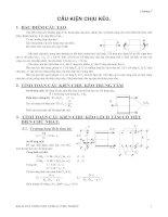 Kết cấu bê tông cốt thép - Chương 7 ppsx