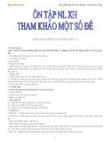 Tuyển tập những bài văn NLXH lớp 12 potx