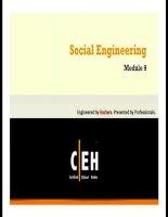 Giáo trình CEH v7 tiếng việt    chương 9 social engineering