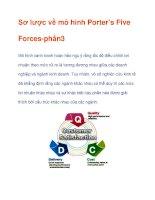 Sơ lược về mô hình Porter's Five Forces-phần3 pdf