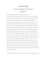 LUYỆN ĐỌC TIẾNG ANH QUA TÁC PHẨM VĂN HỌC-VANITY FAIR -WILLIAM MAKERPEACE THACKERAY -CHAPTER 41 pdf