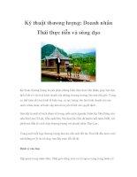 Kỹ thuật thương lượng: Doanh nhân Thái thực tiễn và sùng đạo doc