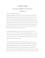 LUYỆN ĐỌC TIẾNG ANH QUA TÁC PHẨM VĂN HỌC-VANITY FAIR -WILLIAM MAKERPEACE THACKERAY -CHAPTER 26 pptx
