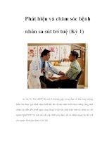 Phát hiện và chăm sóc bệnh nhân sa sút trí tuệ (Kỳ 1) pps