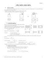 Kết cấu bê tông cốt thép - Chương 6 pdf