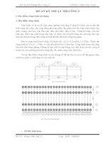 thiế kế đồ án kỹ thuật thi công nhà công nghiệp một tầng 3 nhịp,24 bước