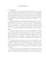 """Tiểu luận """"Bút pháp miêu tả trong trường ca Iliat của Hôme"""